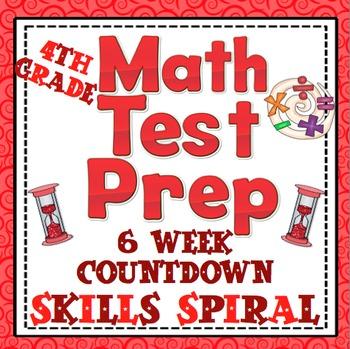 Math Test Prep (4th Grade) 6 Week Countdown