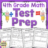 4th Grade Math Test Prep All Standards Bundle