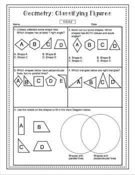 4th Grade Math Test Prep: Geometry