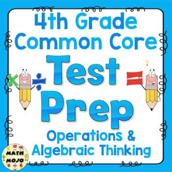 Math Test Prep (4th Grade Common Core) Operations and Alge
