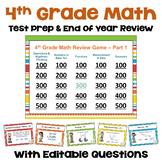 Math Test Prep - 4th Grade Math Games