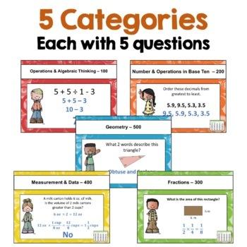 5th Grade Math Review Games