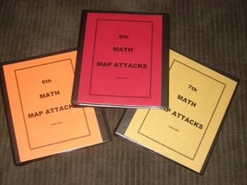 Math Test Prep - 6th MAP Math Attacks