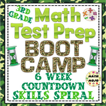 Math Test Prep Boot Camp (3rd Grade) 6 Week Countdown