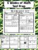 Math Test Prep Boot Camp (3rd Grade) 6 Week Countdown