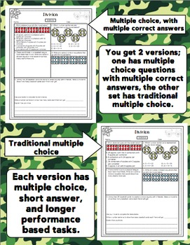 Math Test Prep (Boot Camp Theme) 3rd Grade