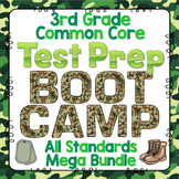 Math Test Prep (Boot Camp Theme) 3rd Grade