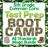 Math Test Prep (Boot Camp Theme) 5th Grade