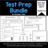 Math Test Prep Bundle Grades 4-6