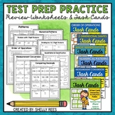 Math Test Prep Task Card Bundle
