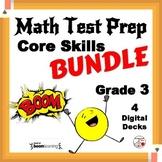 Math Test Prep DIGITAL BUNDLE ... Grade 3 ... 80 Digital Cards