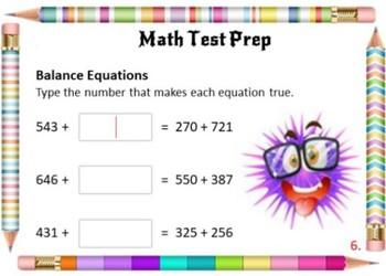 Math Test Prep DIGITAL BUNDLE ... Grade 4 ... 80 Digital Cards