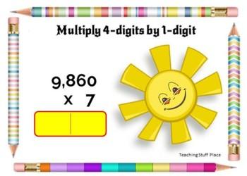 Math Test Prep DIGITAL Boom Learning™  BUNDLE $$$ NEW Gr 4 ... 80 Digital Cards