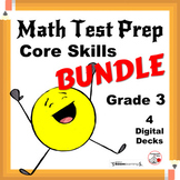 Math Test Prep DIGITAL BUNDLE $$$ Review Grade 3 ... 80 Boom™ Paperless Cards