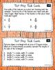 Math Test Prep Fifth Grade Task Cards