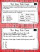 Math Test Prep Fourth Grade Task Cards