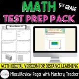 5th Grade Math Test Prep Pack {Digital AND Printable}