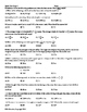 Math Test Prep Practice Worksheets