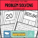 6th Grade Math Test Prep - 6.NS.2, 6.NS.3, 6.NS.4