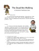 Math Test Prep Review Game: The Dead are Walking: 5th (Cooperative Play Game)