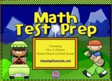Math Test Prep Review Golf Game for SMART Notebook