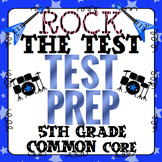Math Test Prep (Rock the Test) 5th Grade