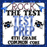 Math Test Prep (Rock the Test) 4th Grade