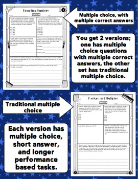 4th Grade Math Test Prep: Rock the Test - 4th Grade Math All Standards