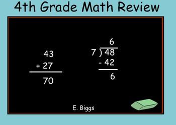 Math Test Prep - Smartboard Lesson