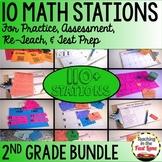 2nd Grade Math Stations BUNDLE