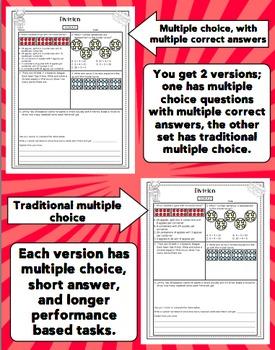 Math Test Prep (Superhero Theme) 3rd Grade