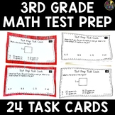 Math Test Prep 3rd Grade Task Cards