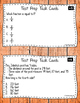 Math Test Prep Third Grade Task Cards