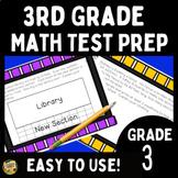 Math Test Prep - Third Grade 50 Days to be Ready!