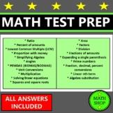 Math Test Prep