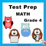 TEST PREP MATH... Grade 4     REVIEW  Worksheets  CORE Skills