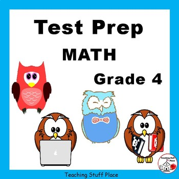 Test Prep Math Grade 4 Review Worksheets Core Skills Tpt