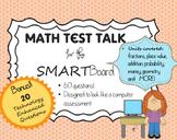 Math Test Prep for SMARTboard