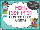 Math Test Prep for the Common Core