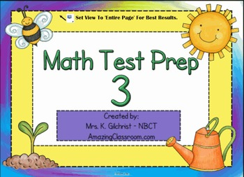 Math Test Preparation Vol. 3 - SMART Notebook File