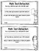 Math Test Reflections