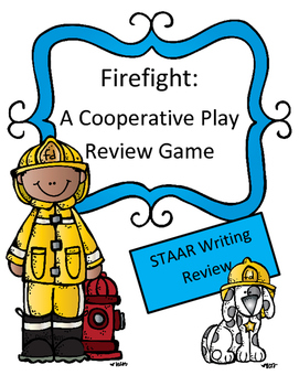 Math Test Review Game: Firefight (Cooperative Play Game) 4th grade
