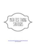 Math Test Taking Strategies Comment Form