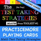 Math Test Taking Strategies - Playing Cards (from Toolkit #1)