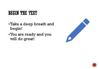 Math Test-Taking Strategies Posters