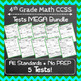 Math Tests ULTIMATE Bundle: ALL Common Core Standards Grades K-5 Tests