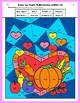 Math:  Thanksgiving Coloring Sheets