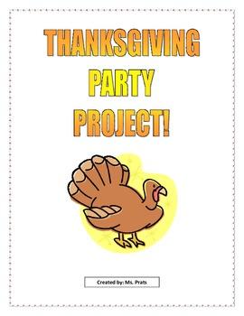 Math Thanksgiving Project