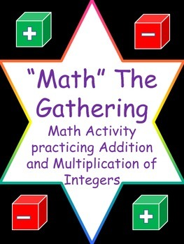 """""""Math"""" The Gathering Integers Game (Addition and Multiplication)"""