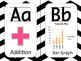 Math Themed Alphabet